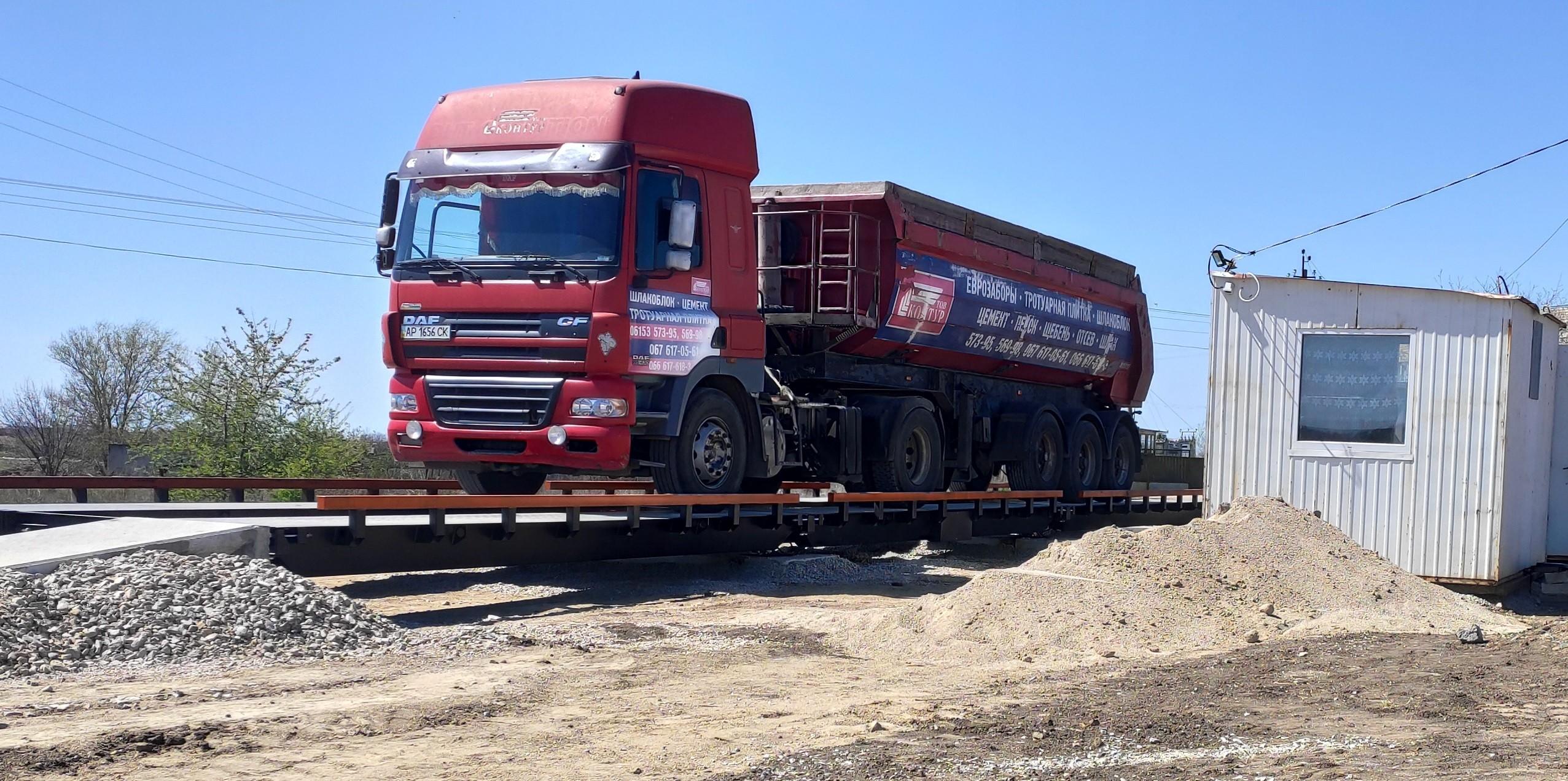 Ваги автомобільні  24 метри (80 тонн)
