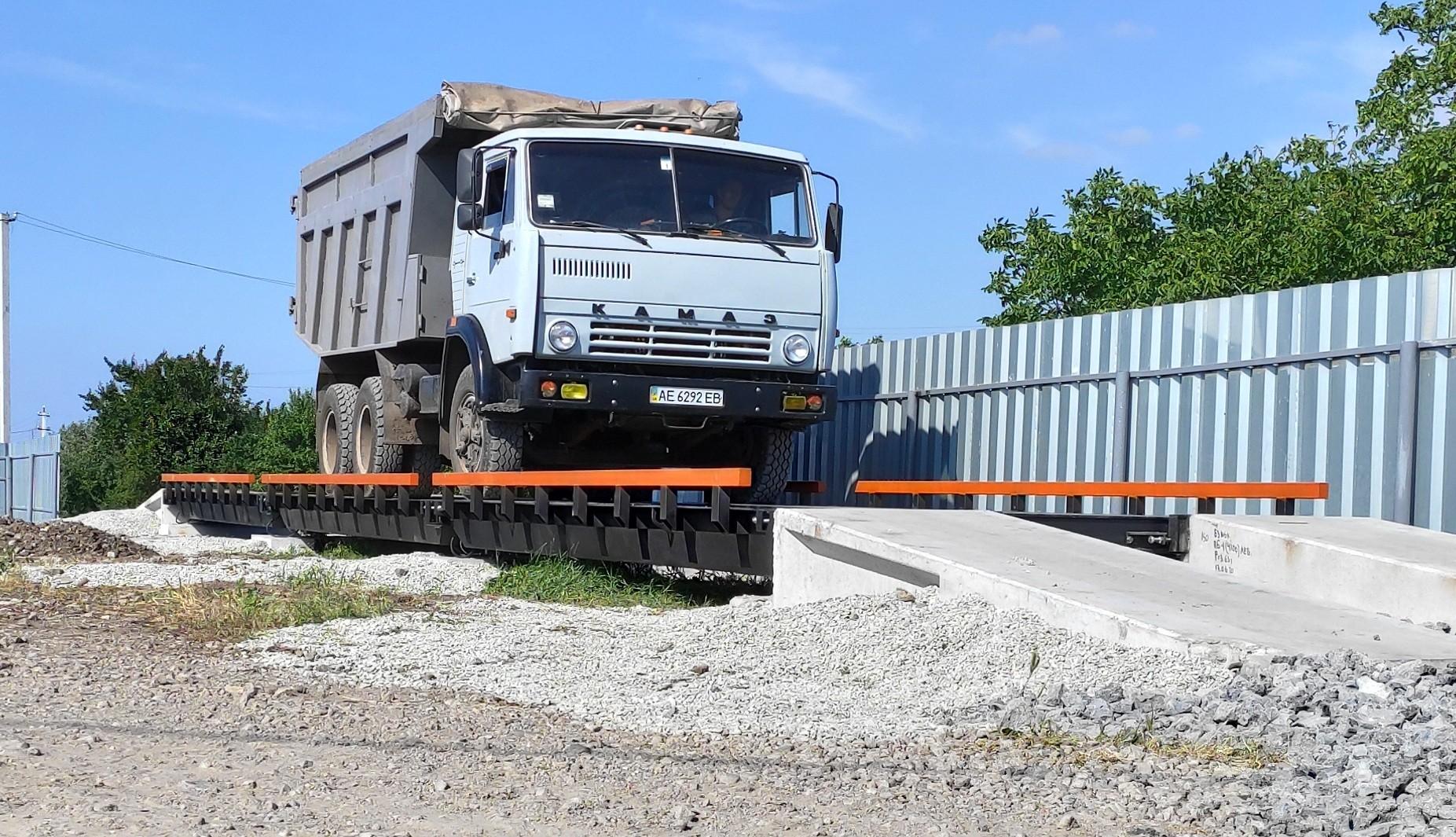 Ваги автомобільні 12 метрів (60 тонн)