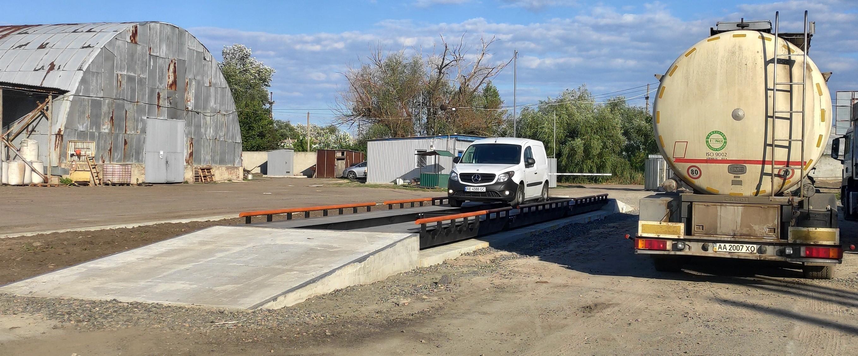Ваги автомобільні  6  метрів (30 тонн)